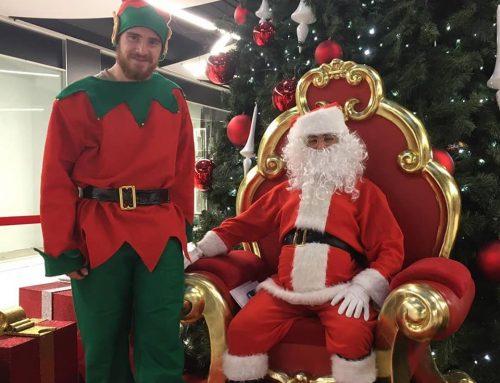el Pare Noel visita el Paddock Sabadell