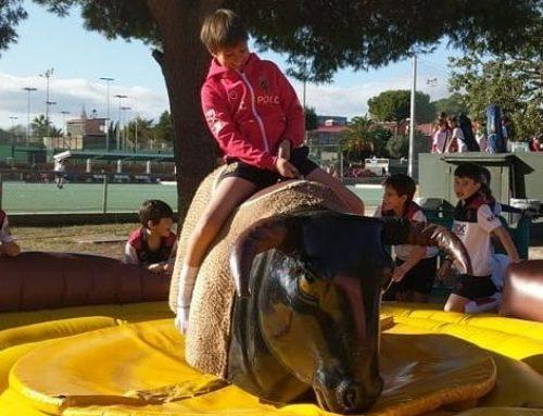 El brau mecànic elitsports al R.C. Polo de Barcelona